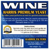 Hambleton Bard, Youngs, Harris And Other Wine Yeasts